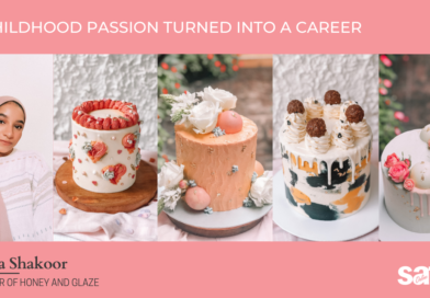 A childhood passion turned into a career : Honey and Glaze