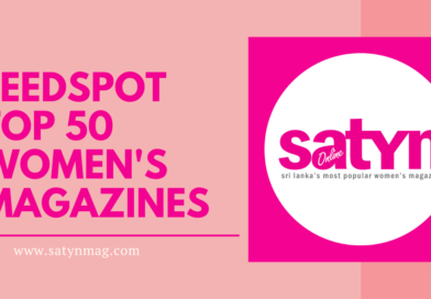 Satynmag recognized as one of the Top 50 Women's Magazines online 2021: Feedspot
